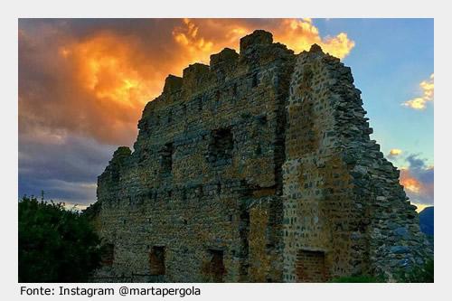 Da visitare a Siliqua: Castello di Acquafredda