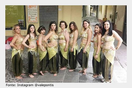 Da visitare a Siliqua: spettacoli ed esibizioni delle danzatrici Oriental Dream