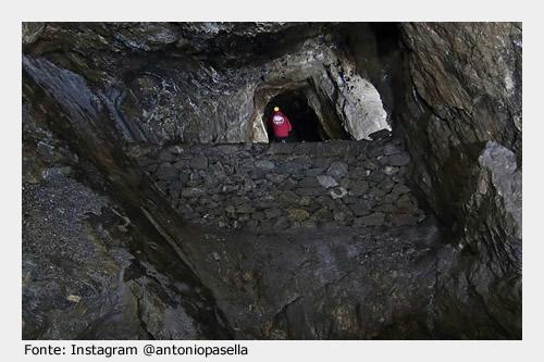 Da visitare a Villamassargia: interno della Miniera di Orbai