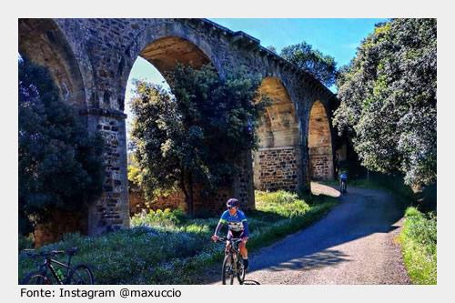 Da visitare a Siliqua: ponte ferroviario sulla vecchia linea FMS