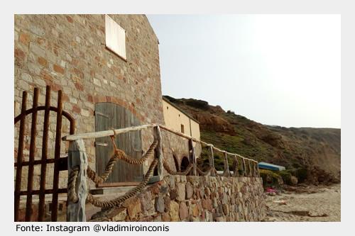 Da visitare a Gonnesa: Antica Tonnara di Porto Paglia