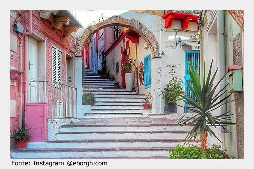 Da visitare a Carloforte: il colorato e tipico centro storico