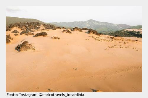 Da visitare ad Arbus: Dune di Piscinas