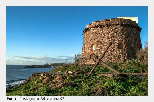 Da visitare a Portoscuso: Torre Spagnola